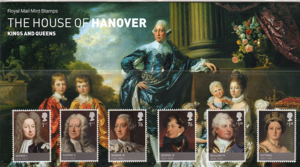 2011 pack number 461 the house of hanover presentation pack for The hanover house
