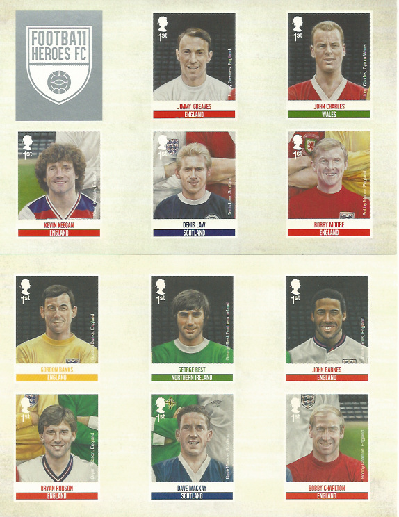 Great Britain Stamps 2013 Great Britain 2013 Football