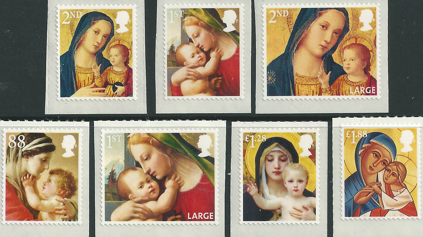 Great Britain Stamps 2013 Great Britain 2013 Christmas