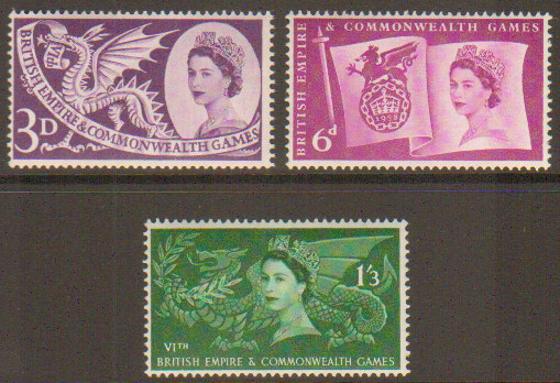 Great Britain Stamps Value Stamp Set Great Britain