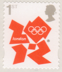 Sg3251 1st Class Olympic Definitive Stamp Self Adhesive Dlr Print