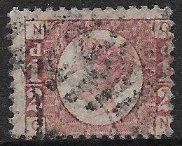 SG48/49 ½d Rose Red Plate 9 Q-N Good Used